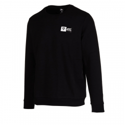 Pánska tréningová mikina ANTA-Sweat Shirt black