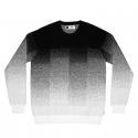 Pánska mikina DEDICATED-Sweatshirt Mora Enamel Pixel Fade -