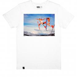 Pánske tričko s krátkym rukávom DEDICATED-T-shirt Stockholm Double Daffy