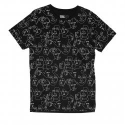 Pánske tričko s krátkym rukávom DEDICATED-T-shirt Stockholm Faces