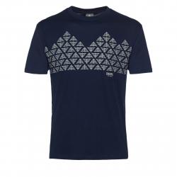 Pánske tričko s krátkym rukávom BERG OUTDOOR-RAINIER BLUE