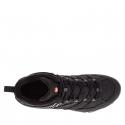 Pánska turistická obuv stredná MERRELL-MOAB 2 SMOOTH MID GTX black -