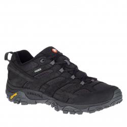 Pánska turistická obuv nízka MERRELL-MOAB 2 SMOOTH GTX black