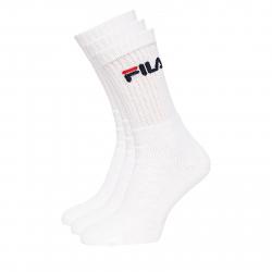 Ponožky FILA-F9505 SOCKS 3-PACK 300-White