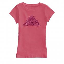 Dámske tričko s krátkym rukávom BURTON-GIRLS PEAK SS TROPIC
