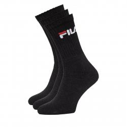 Ponožky FILA-F9505 SOCKS 3-PACK 200-Black