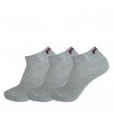 Ponožky FILA-F9300 SOCKS 3-PACK 400-Grey -