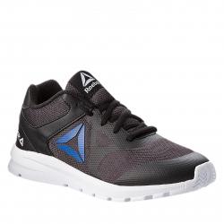 Juniorská tréningová obuv REEBOK-RUSH RUNNER BLACK/VITAL BLUE
