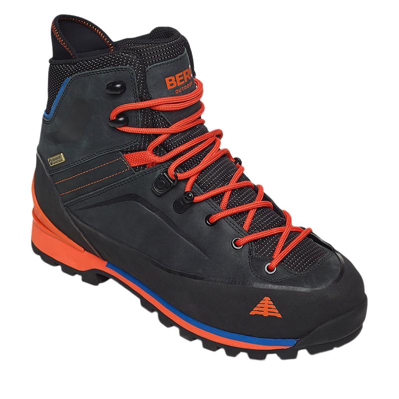 Pánska turistická obuv vysoká BERG OUTDOOR-PICO BLACK - d983d6b5ef8