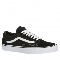 Rekreačná obuv VANS-UA OLD SKOOL Black/White