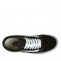 Rekreačná obuv VANS-UA OLD SKOOL Black/White -