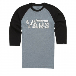 Tričko s krátkym rukávom VANS-FOCUS RAGLAN Heather