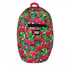 Ruksak ST RIGHT BP09 Flamingo Pink&Green