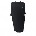 Dámske šaty JANA POLAK-Basic black -