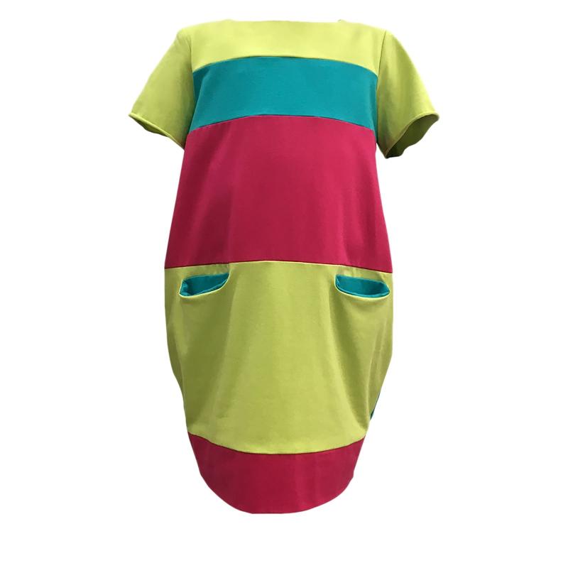 0483c4a4ef20 Dievčenské šaty JANA POLAK-Basic girl -