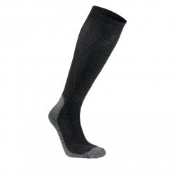 Podkolienky SEGER Alpine Mid Wool Compression BLACK
