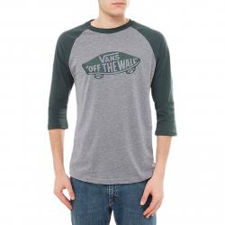 Tričko s krátkym rukávom VANS-MN OTW RAGLAN HEATHER GREY