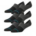 Módne ponožky STANCE-GAMUT 3 PACK BLACK -