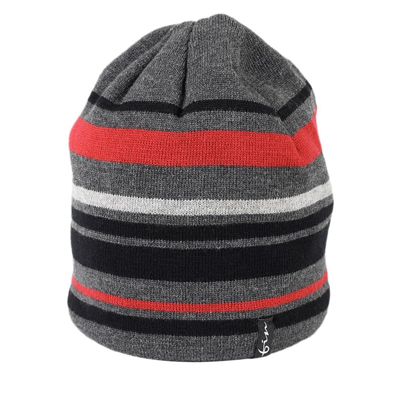 120bed9d5 Pánska zimná čiapka FINMARK FC1814 GREY/BLACK | EXIsport Eshop