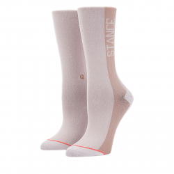 Módne ponožky STANCE-JUDGE ME WHITE