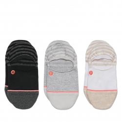 Módne ponožky STANCE-INVISIBLE 3 PACK MULTI
