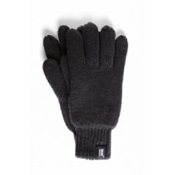 HEAT HOLDERS-Pánske rukavice čierna