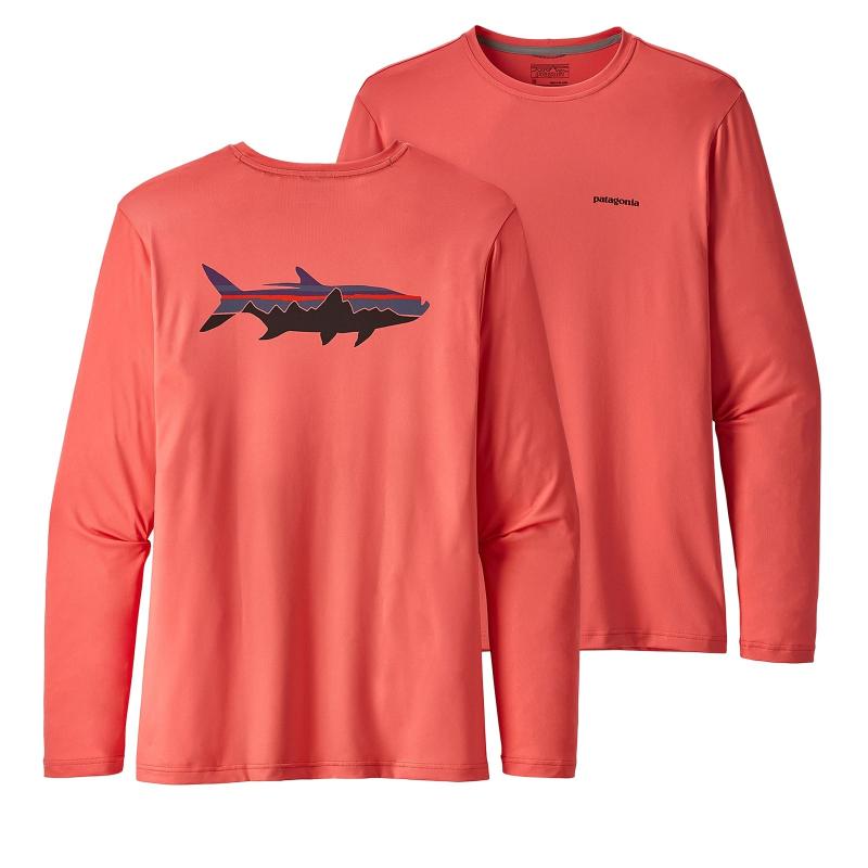 bb2de9cb5309 Tričko s krátkym rukávom PATAGONIA-Ms Graphic Tech Fish Tee FTCA ...