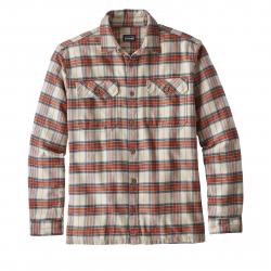 Košeľa s dlhým rukávom PATAGONIA-Ms L/S Fjord Flannel Shirt MILS