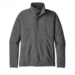 Mikina PATAGONIA-Ms LW Better Sweater Marsupial P/O Forge Grey