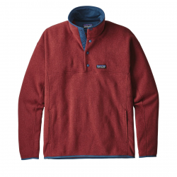 Mikina PATAGONIA-Ms LW Better Sweater Marsupial P/O Oxide Red