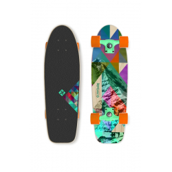 "Skateboard STREET SURFING-CRUISER 28 ""Rocky Mountain 100 kg 8+ 70 cm"
