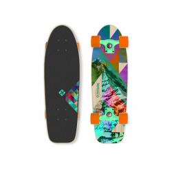 "Skateboard STREET SURFING CRUISER 28"" Rocky Mountain 70kg 8+ 70cm"