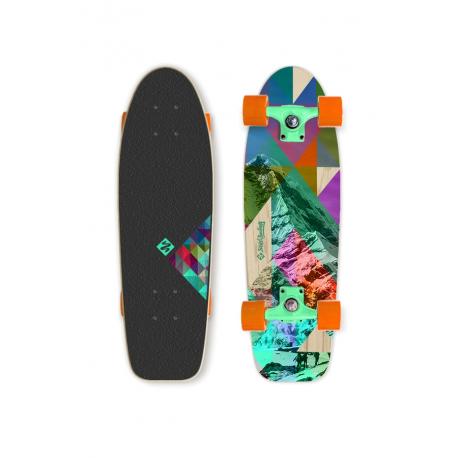 Skateboard STREET SURFING-CRUISER 28 Rocky Mountain 100kg 8+ 70cm