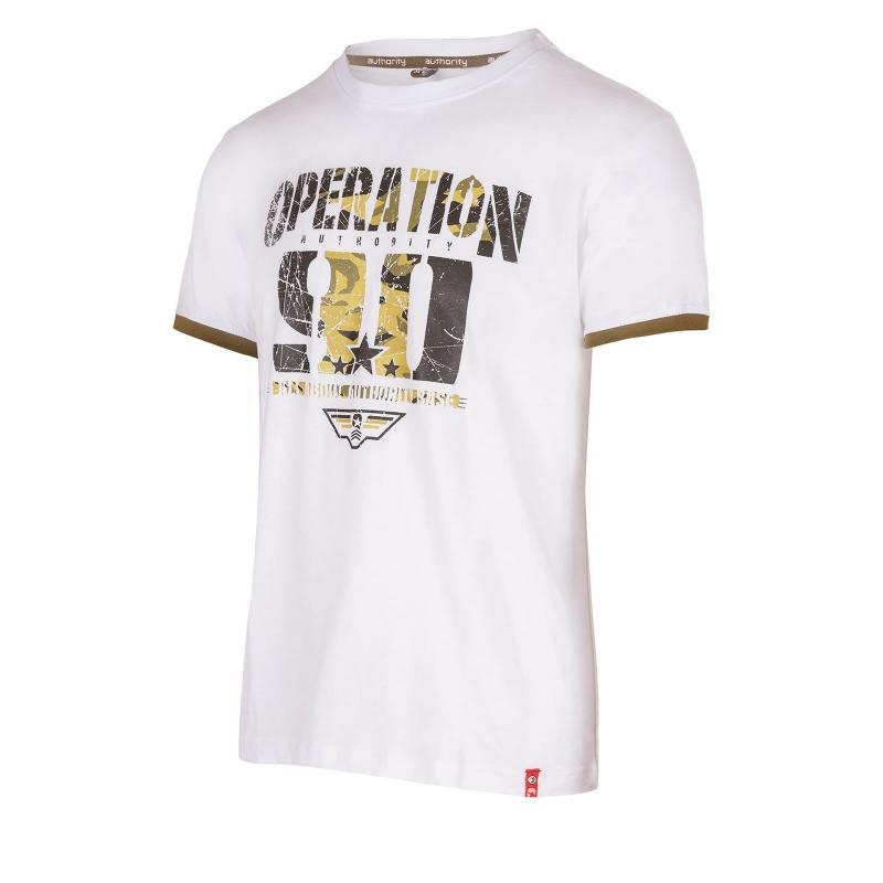 ee1f542c9f94 Pánske tričko s krátkym rukávom AUTHORITY-TARMY white -