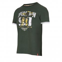 Pánske tričko s krátkym rukávom AUTHORITY-TARMY olive