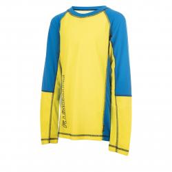 Detské termo tričko s dlhým rukávom AUTHORITY-THALKYNY neon