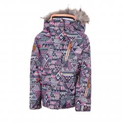 Dievčenská lyžiarska bunda AUTHORITY-KIDDIE G violet