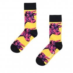 Módne ponožky HAPPY SOCKS-Andy Warhol Cow Sock