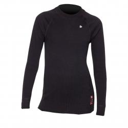 Juniorské termo tričko s dlhým rukávom THERMOWAVE-ACTIVE-Junior-L-sleeve-Black