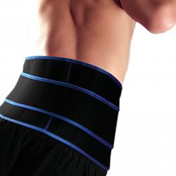 Fitness chránič FORTUNA Ortéza chrbta a drieku so silikónovými pelotami