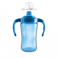 Fľaša J4K Detská fľaša na pitie, 260 ml modrá