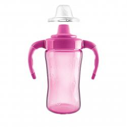 Fľaša J4K Detská fľaša na pitie, 260 ml ružová