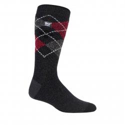 Pánske ponožky HEAT HOLDERS-Pánske ponožky LITE fashion Audley čierno/červe