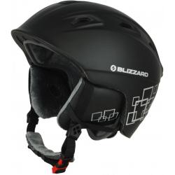 9638af8e0 Lyžiarska prilba BLIZZARD DEMON ski helmet, black matt/silver squares