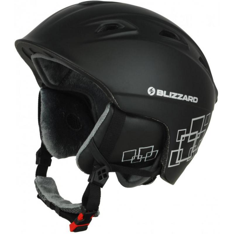 61059ed74 Lyžiarska prilba BLIZZARD-DEMON ski helmet, black matt/silver squares -  Kvalitná lyžiarska