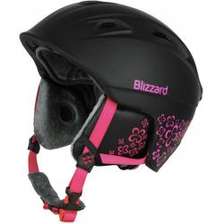 07584df76 Dámska lyžiarska prilba BLIZZARD VIVA DEMON ski helmet, black matt/magenta  flower