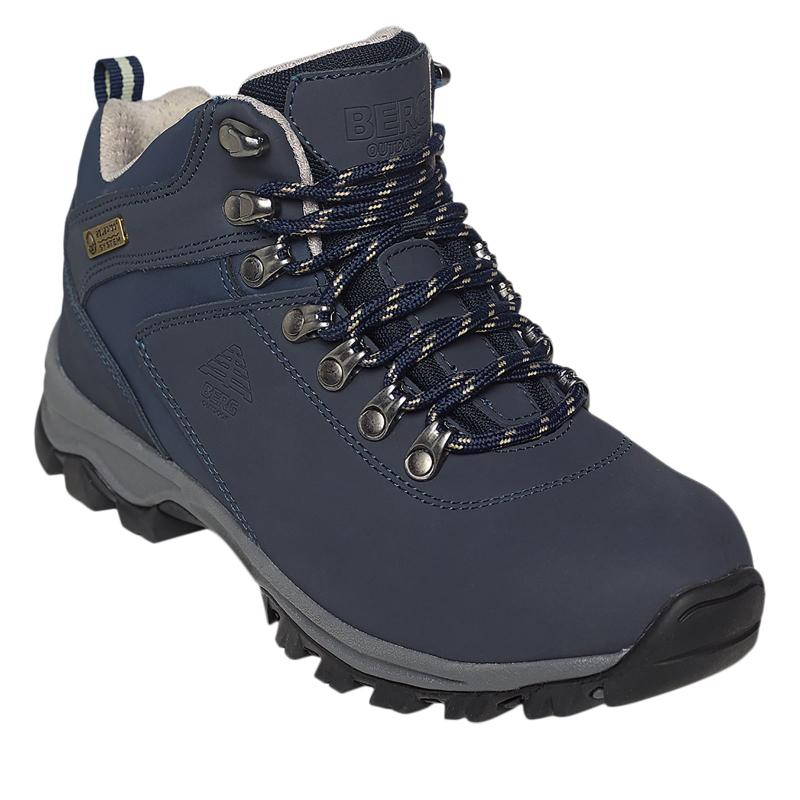 c5c2e4efbe Dámska turistická obuv stredná BERG OUTDOOR-GROUSE BLUE SAPHIRE ...