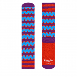 Módne ponožky HAPPY SOCKS-Athletic Squiggly Sock