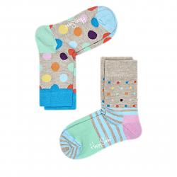 Módne ponožky HAPPY SOCKS-KBDO02-1000 12-24