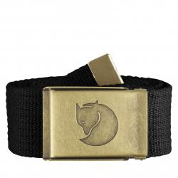Opasok FJALLRAVEN-Canvas Brass Belt 4 cm. / Canvas Brass Belt 4 cm.